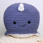 Narwhal Squish - free crochet pattern on Moogly