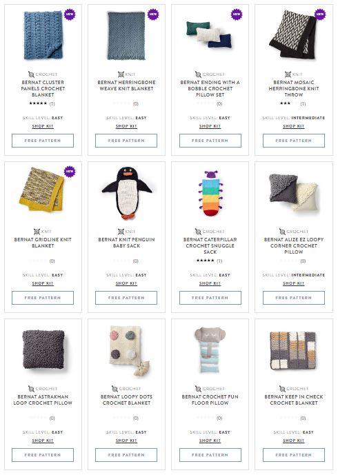 Bernat Blanket patterns - over 100 free crochet and knit patterns on Yarnspirations!