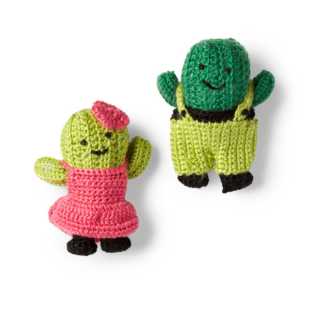 Red Heart Agave and Aloe Crochet Cactus - free crochet patterns!