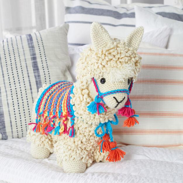 Red Heart Llama-No-Drama - free crochet pattern!