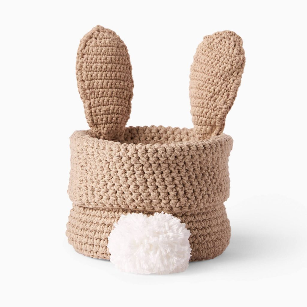 Hoppy Easter Basket - Free Crochet Pattern