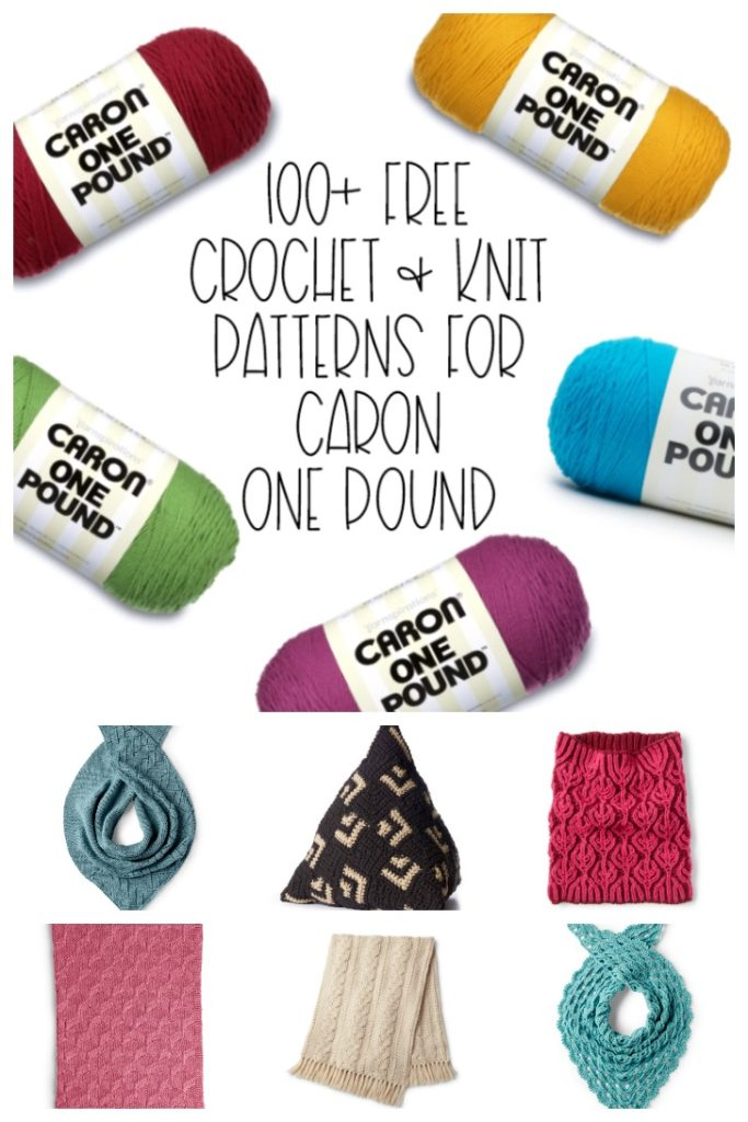 100+ Free Crochet and Knit Patterns for Caron One Pound - Get them all on Moogly!