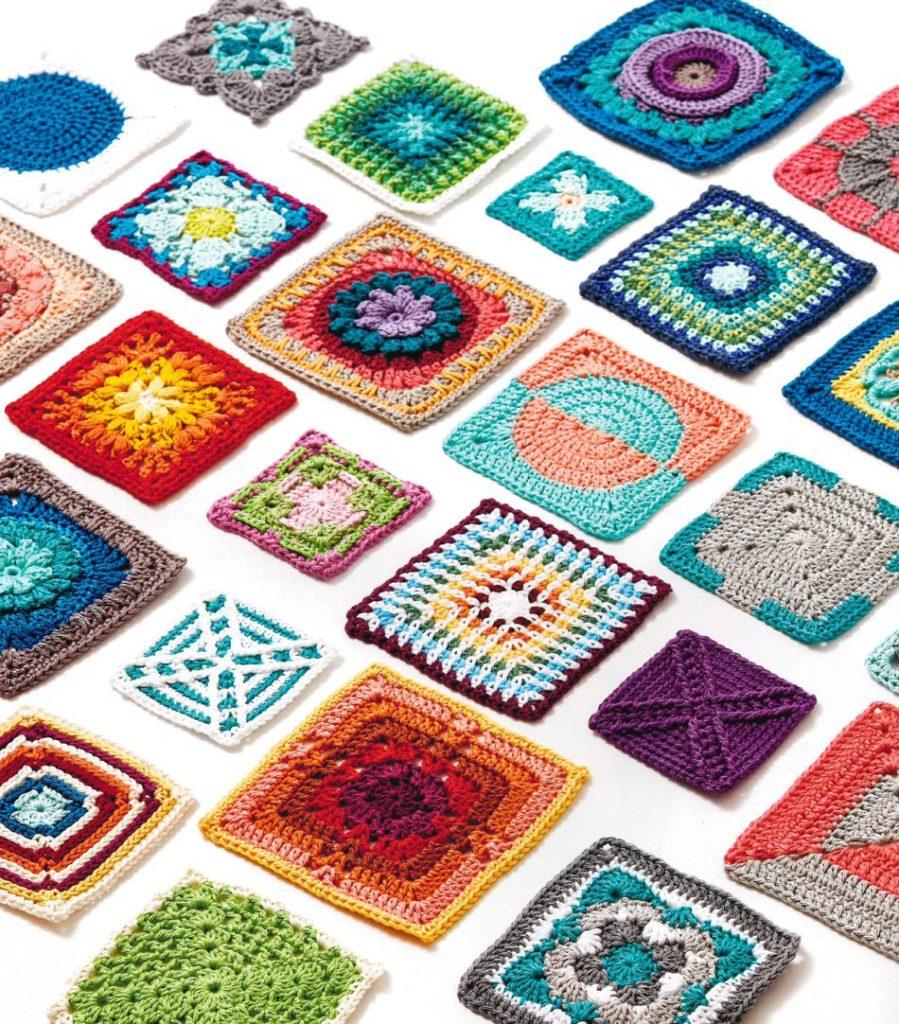 Crochet Kaleidoscope by Sanda Eng