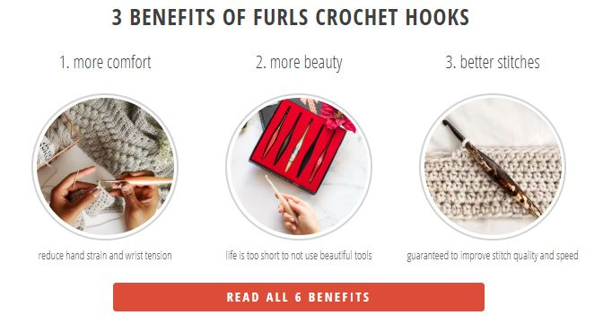 The 6 Benefits of Furls Crochet Hooks