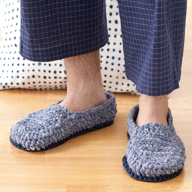 Phentex Crochet Loafers - free pattern!