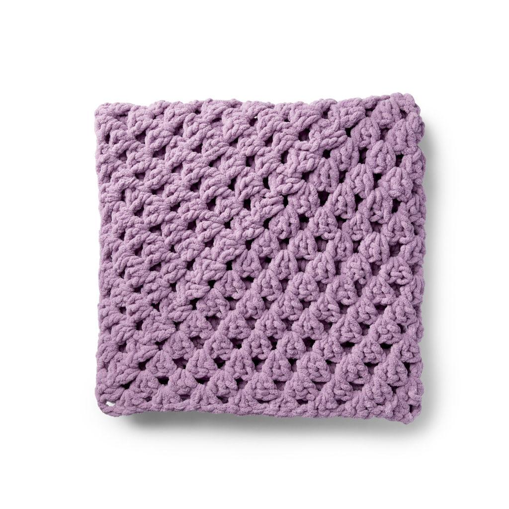 Bernat Granny Rectangle Crochet Afghan - free pattern!