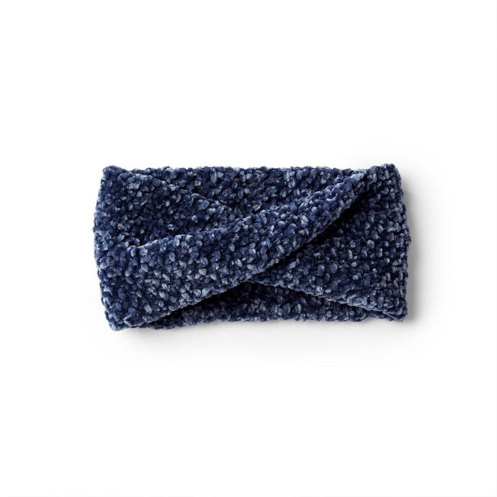 Bernat Twisted Knit Headband -free pattern!