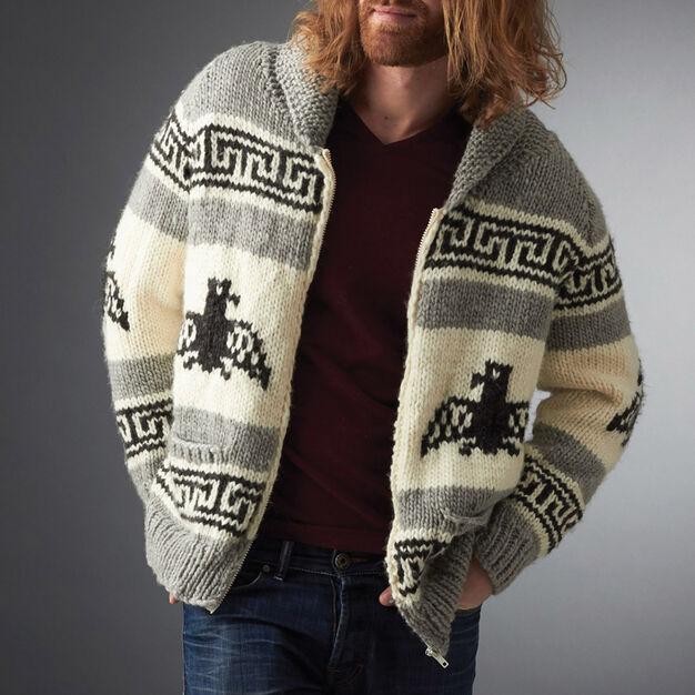 I'm the Dude Jacket - free knit pattern!