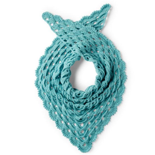 Caron Go To Crochet Shawl - free pattern!