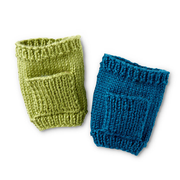Caron Knit Pocket Cup Cozy - free pattern!