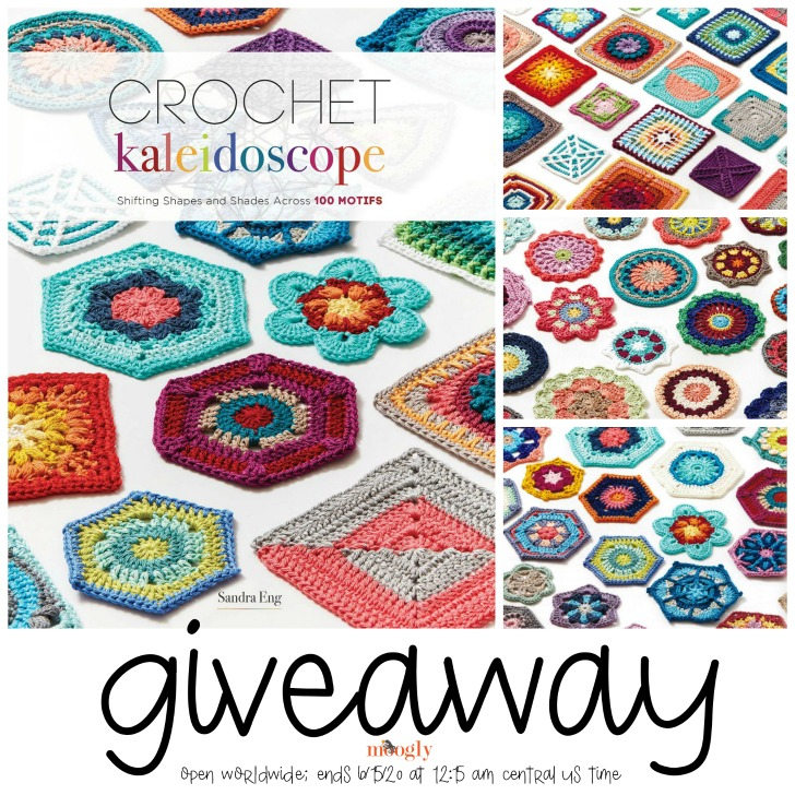Crochet Kaleidoscope Book Giveaway - on Moogly