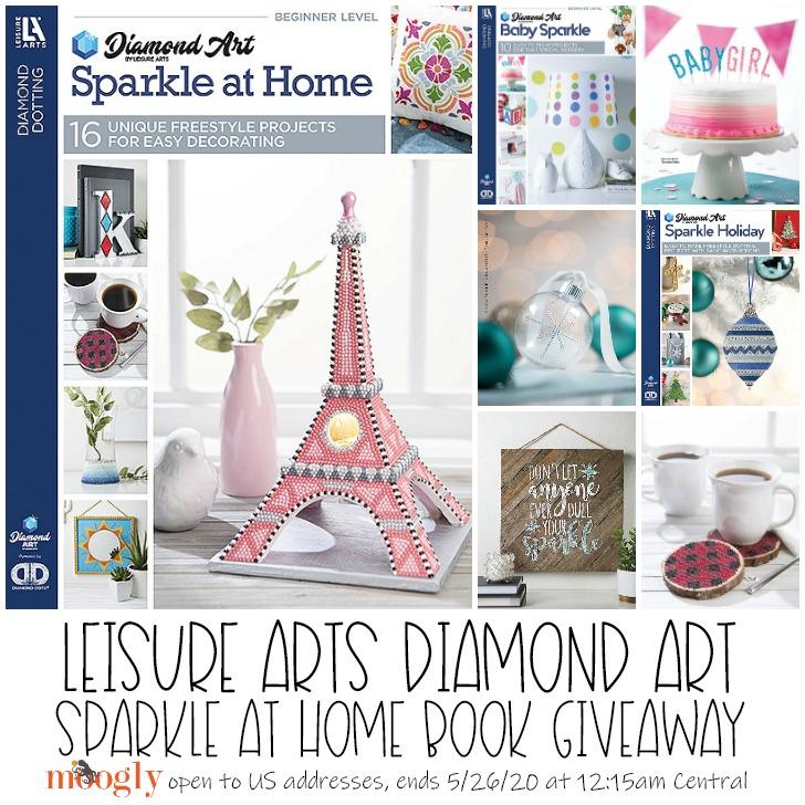 Leisure Arts Diamond Art Book Giveaway - Moogly
