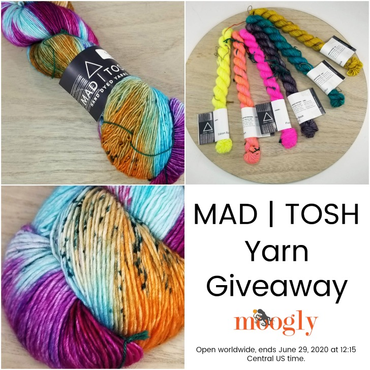 Madelinetosh Yarn Giveaway on Moogly