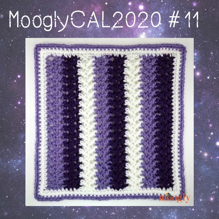 MooglyCAL2020 Block #11, courtesy of My Hobby Is Crochet