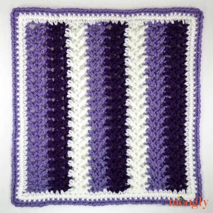 MooglyCAL2020 Block #11, courtesy of My Hobby Is Crochet