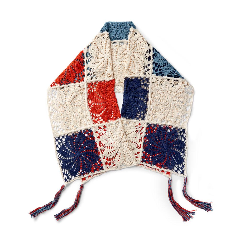 Patons Pinwheel Crochet Shawl - free pattern!