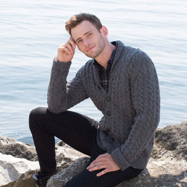 Hey Handsome Knit Cardigan - free pattern!