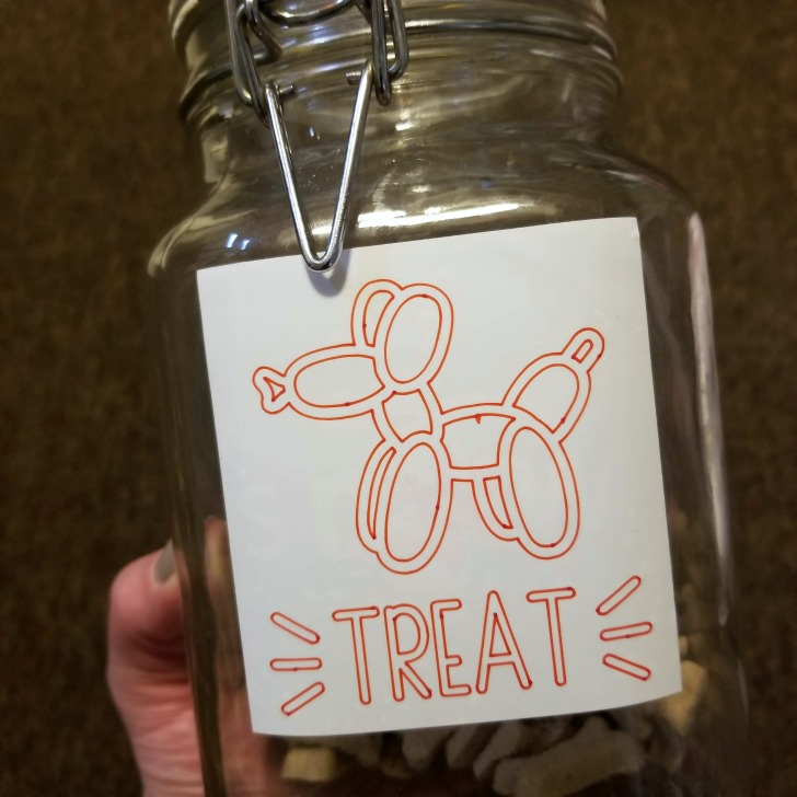 Upgraded Pet Treat Jar