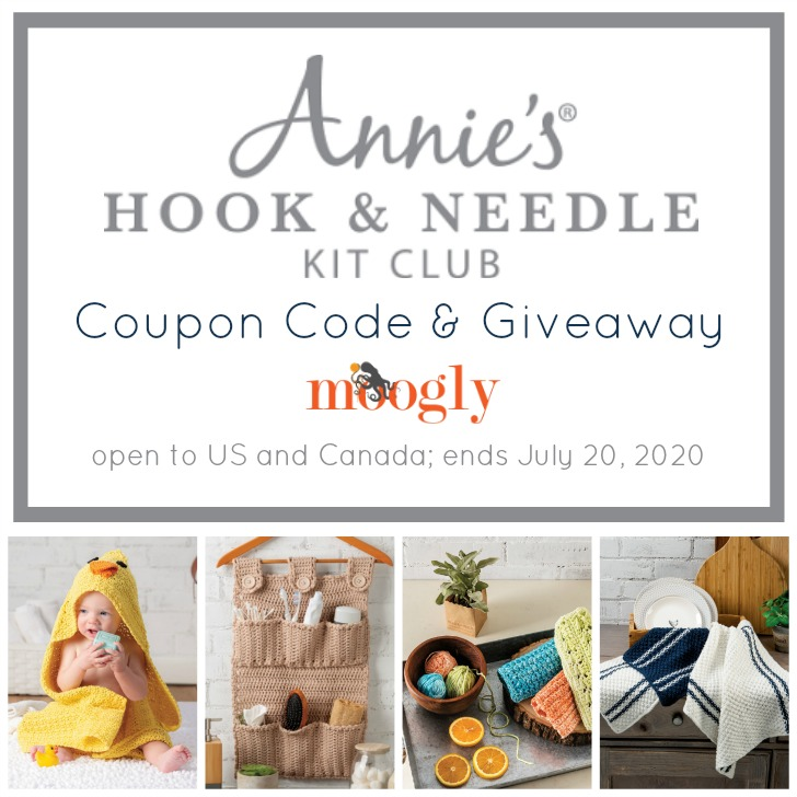 Annie's Hook and Needle Kit Club Giveaway on Moogly