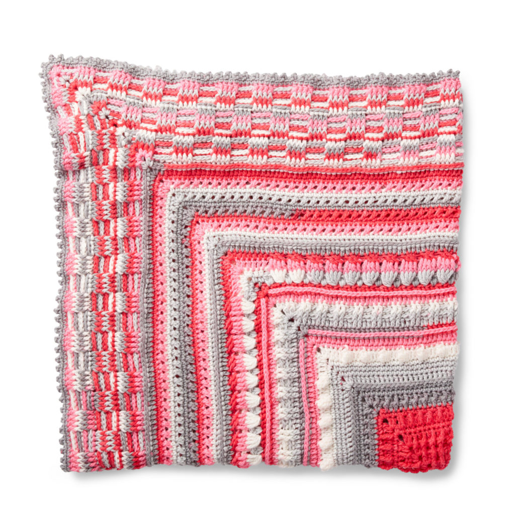 Bernat Study of Texture Afghan - free pattern!