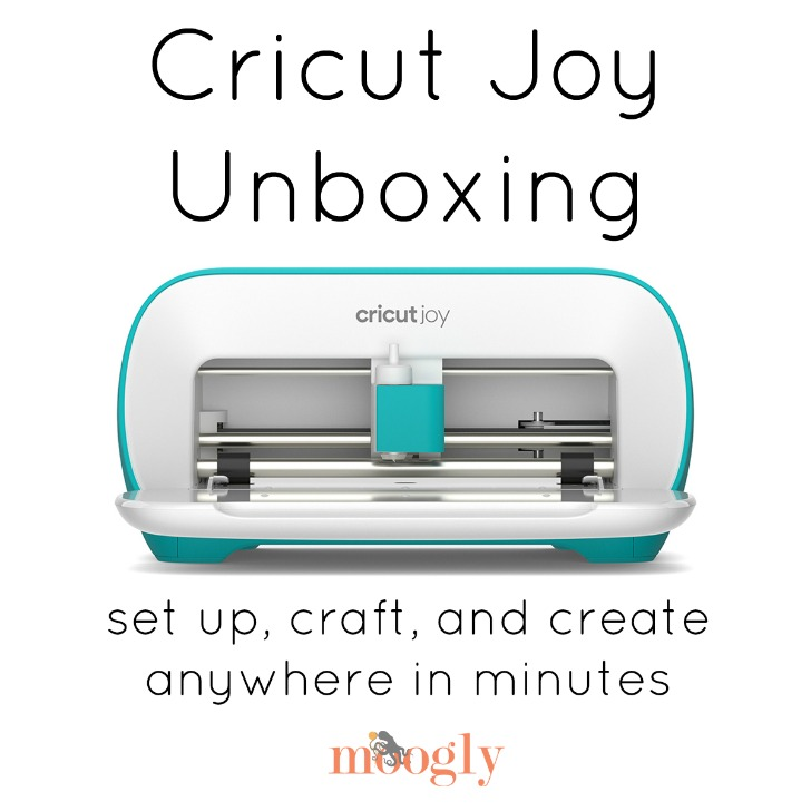 Cricut Joy Unboxing and Demo on Moogly!