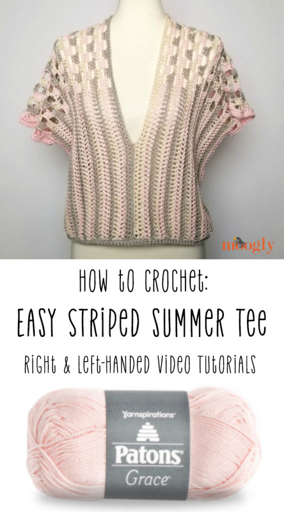 Easy Striped Summer Tee Tutorial