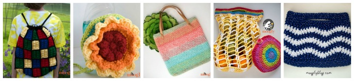 Moogly Bag and Bobble Patterns - these and so many more, all free!