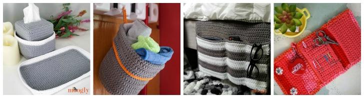 Moogly Organization Crochet Patterns