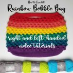 Rainbow Bobble Bag Tutorial