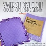 Swedish Dishcloth Crochet Craft and Giveaway