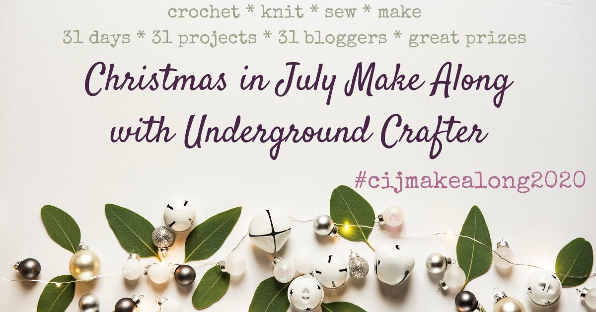2020 Christmas in July Make Along with Underground Crafter Facebook