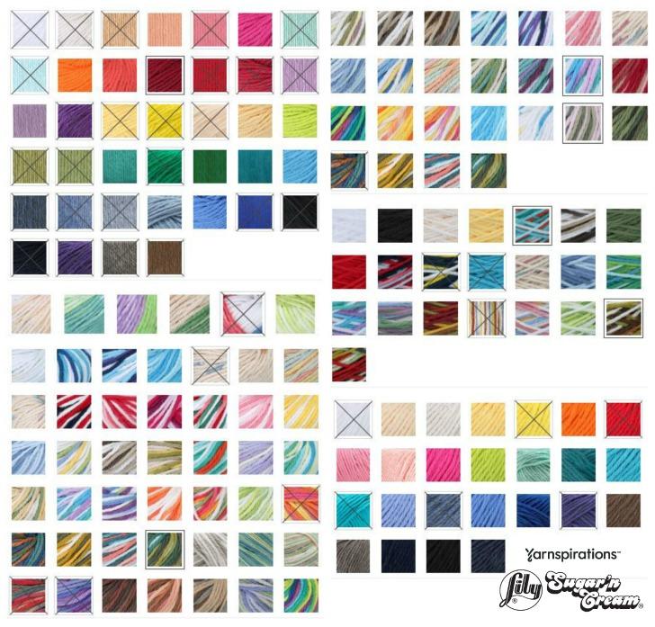 Colors of Lily Sugar'n Cream
