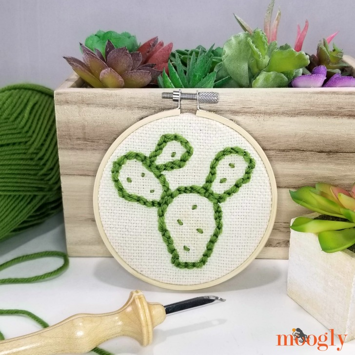 Easy Punch Needle with the Cricut Maker! - Moogly