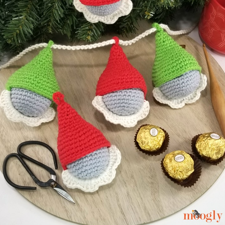 Gnome Candy Ornaments - advent calendar