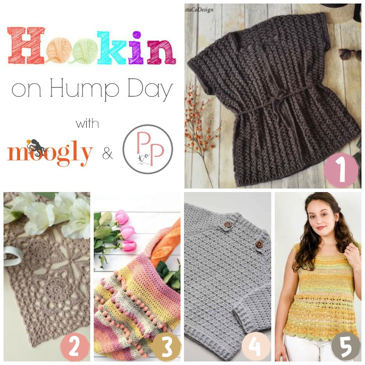 HOHD 219 - get the links to all these FREE crochet patterns on Moogly!