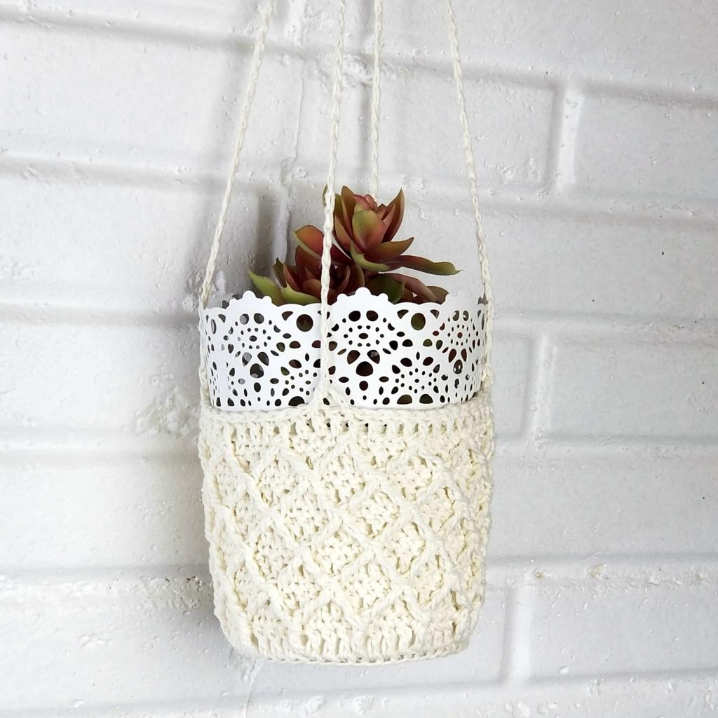 Patons Crochet Plant Hanger - Moogly