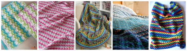 Free Crochet Blanket Patterns on Moogly - just 5 of 50+!