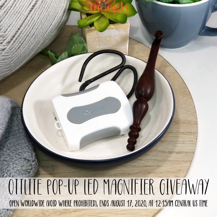OttLite Pop-Up LED Magnifier Giveaway on Moogly
