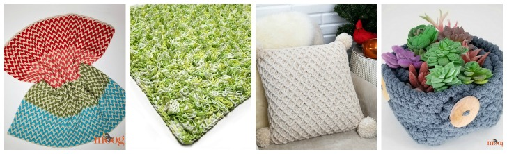 Free Home Decor Patterns by Moogly