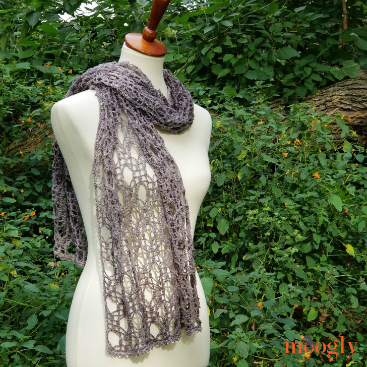 New Moon Shawl - another look