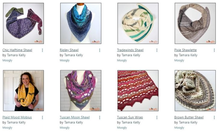 Free Shawl and Wrap Patterns on Moogly