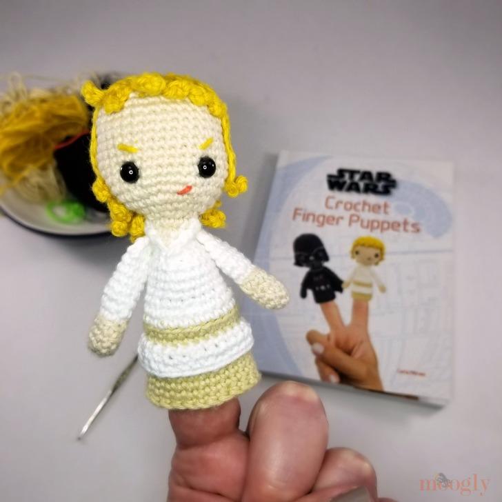 Star Wars Crochet Finger Puppets Review and Giveaway - Luke Skywalker 2