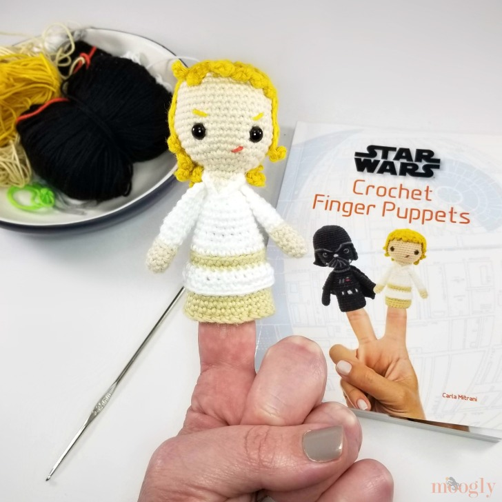 Star Wars Crochet Finger Puppets Review and Giveaway - Luke Skywalker