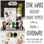 Star Wars Crochet Finger Puppets Review and Giveaway