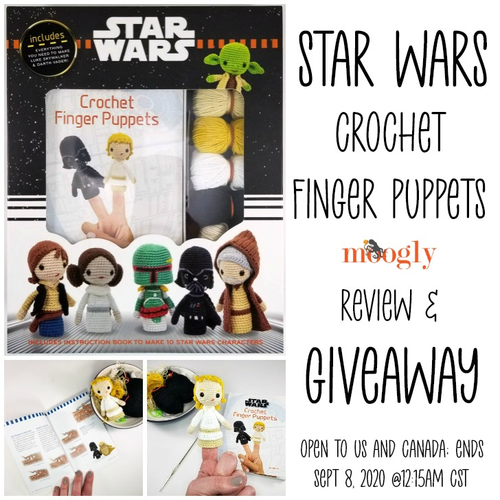 Star Wars Crochet Finger Puppets Review and Giveaway on Moogly