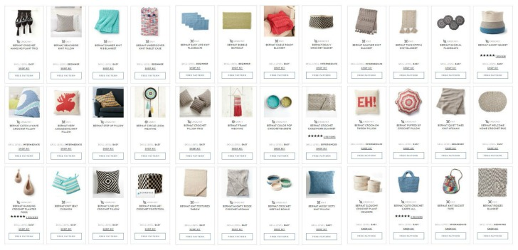 Yarnspirations Bernat Maker Home Dec Patterns