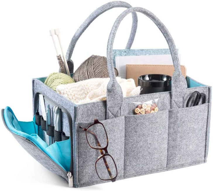 Mollie Ollie Mimmo Caddy with crafts