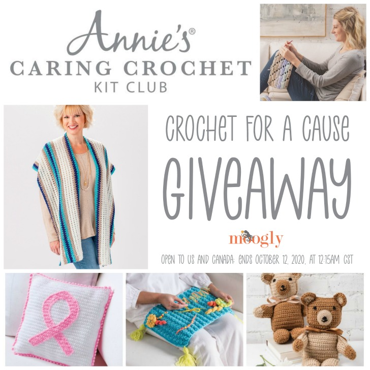 Annie's Caring Crochet Kit Club Giveaway on Moogly