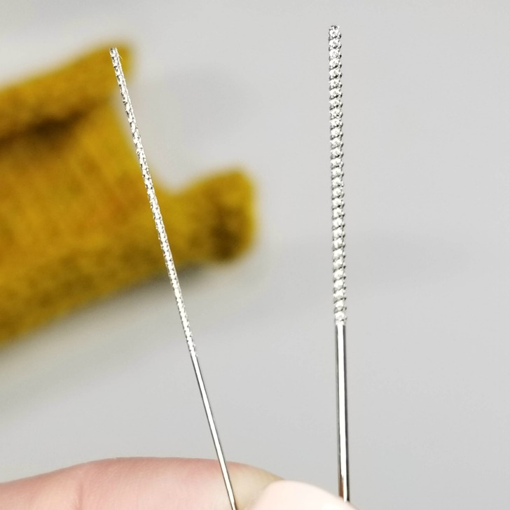 Clover Snag Repair Needles - textured ends