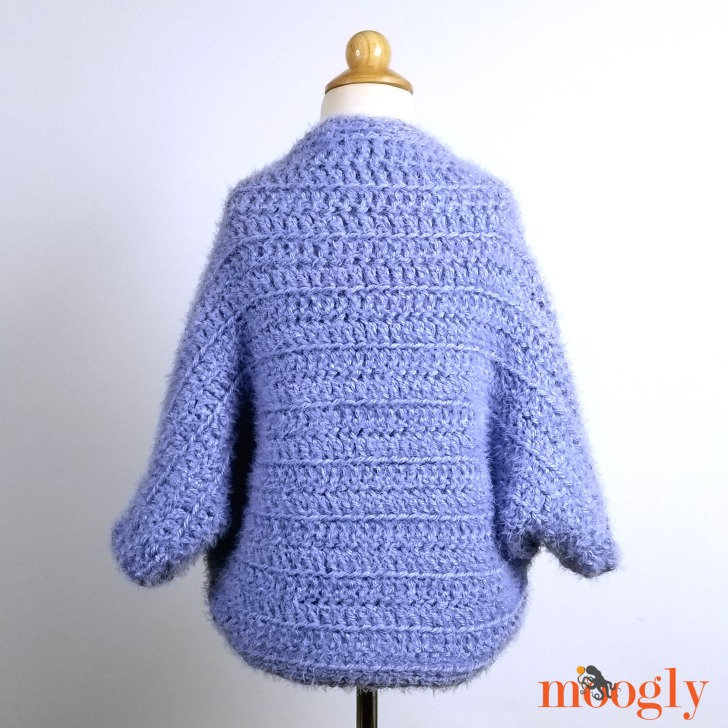 Hygge Girls Cocoon Cardigan - back view
